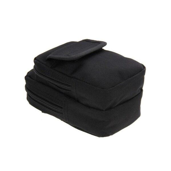 37348 - Многофункциональная сумка Waist Bag с тремя отделениями из плотного нейлона