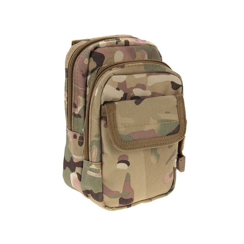 Многофункциональная сумка Waist Bag с тремя отделениями из плотного нейлона 213194