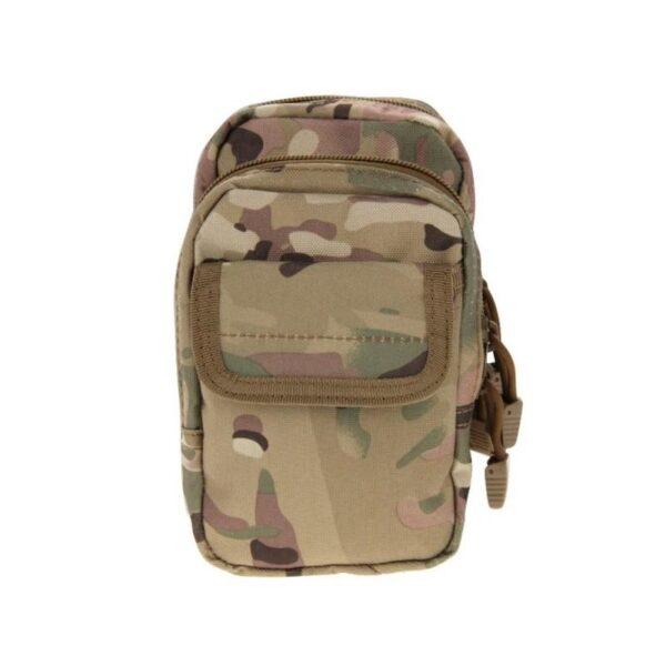 37351 - Многофункциональная сумка Waist Bag с тремя отделениями из плотного нейлона