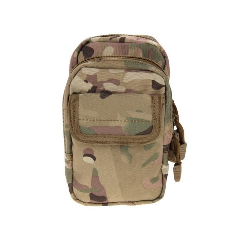 Многофункциональная сумка Waist Bag с тремя отделениями из плотного нейлона 213195