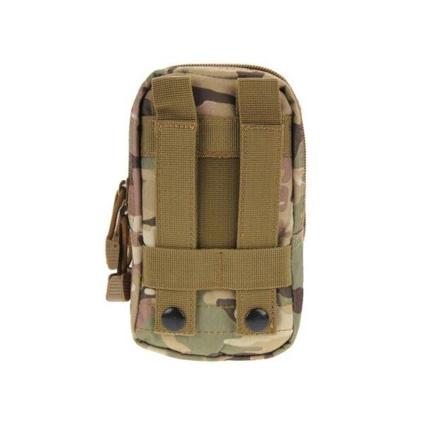 37352 - Многофункциональная сумка Waist Bag с тремя отделениями из плотного нейлона