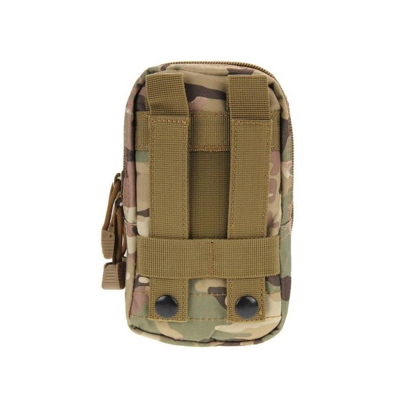 Многофункциональная сумка Waist Bag с тремя отделениями из плотного нейлона 213196