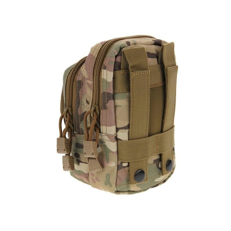 Многофункциональная сумка Waist Bag с тремя отделениями из плотного нейлона 213198