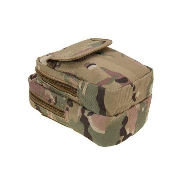 37355 - Многофункциональная сумка Waist Bag с тремя отделениями из плотного нейлона