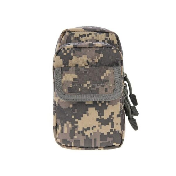 37358 - Многофункциональная сумка Waist Bag с тремя отделениями из плотного нейлона