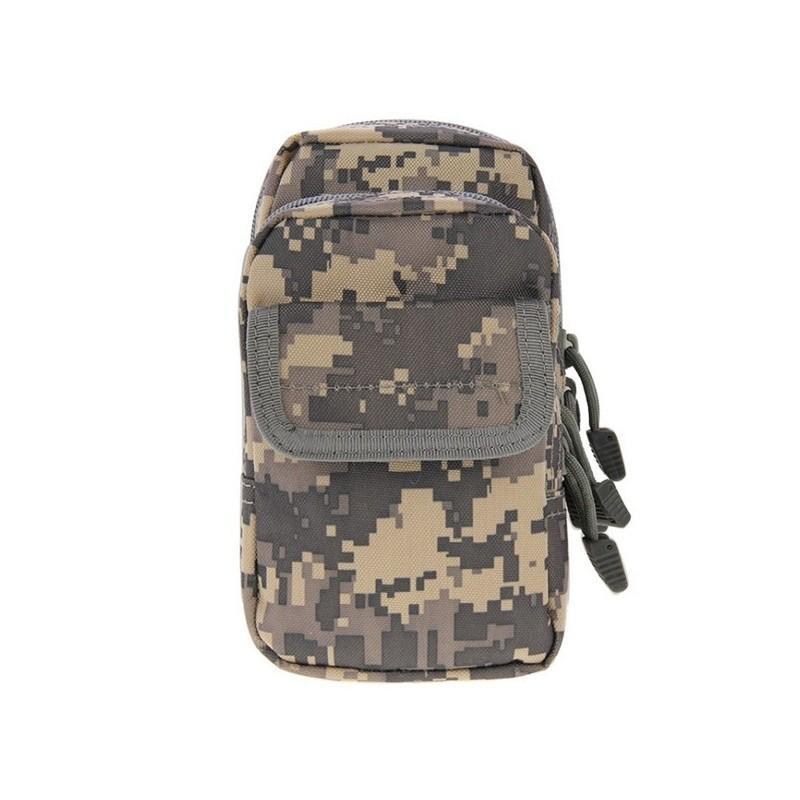 Многофункциональная сумка Waist Bag с тремя отделениями из плотного нейлона 213201