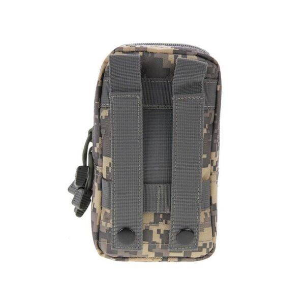 37359 - Многофункциональная сумка Waist Bag с тремя отделениями из плотного нейлона