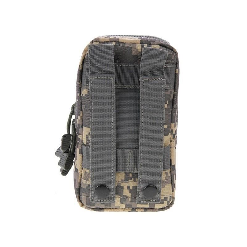 Многофункциональная сумка Waist Bag с тремя отделениями из плотного нейлона 213202