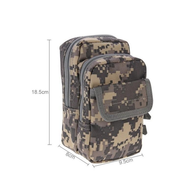 Многофункциональная сумка Waist Bag с тремя отделениями из плотного нейлона 213203