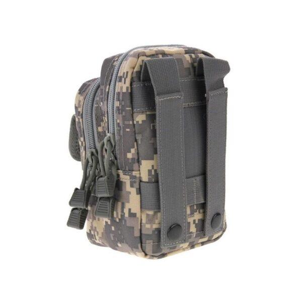 37361 - Многофункциональная сумка Waist Bag с тремя отделениями из плотного нейлона