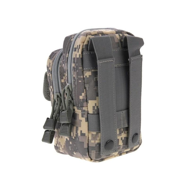 Многофункциональная сумка Waist Bag с тремя отделениями из плотного нейлона 213204