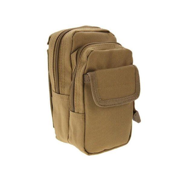 37364 - Многофункциональная сумка Waist Bag с тремя отделениями из плотного нейлона