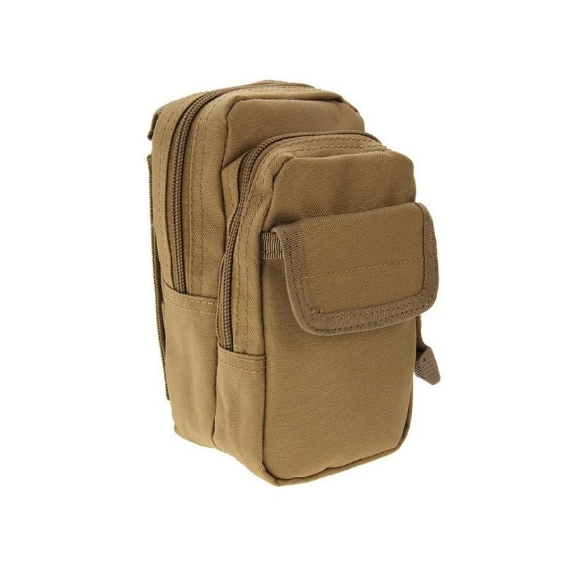 Многофункциональная сумка Waist Bag с тремя отделениями из плотного нейлона 213207