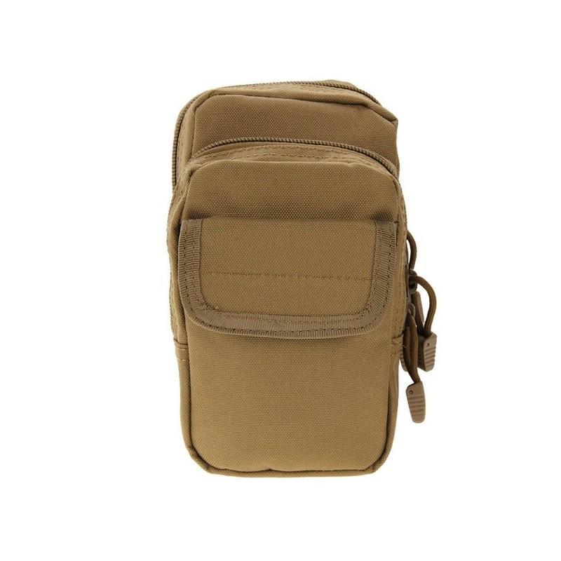 Многофункциональная сумка Waist Bag с тремя отделениями из плотного нейлона 213208