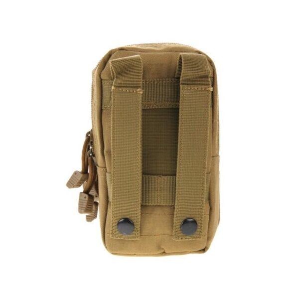 37366 - Многофункциональная сумка Waist Bag с тремя отделениями из плотного нейлона