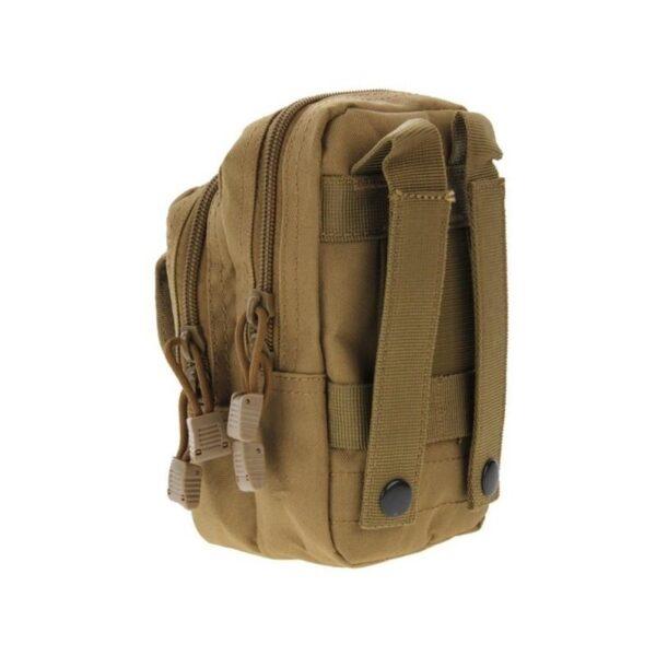 37368 - Многофункциональная сумка Waist Bag с тремя отделениями из плотного нейлона