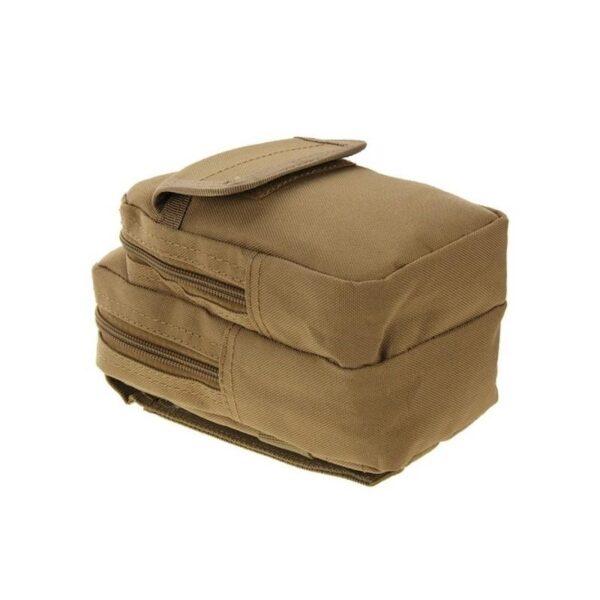 37369 - Многофункциональная сумка Waist Bag с тремя отделениями из плотного нейлона