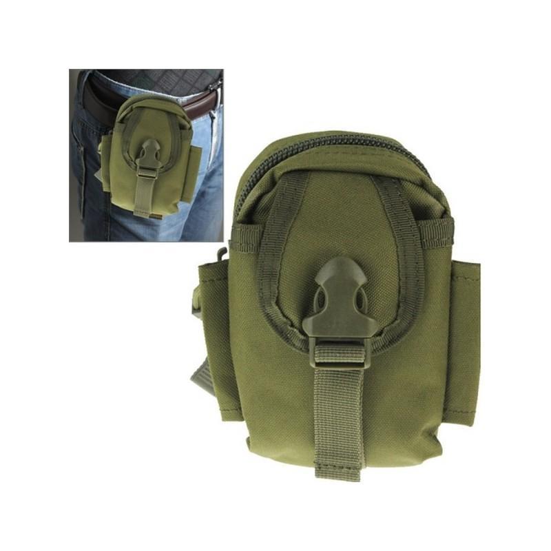 37371 - Прочная поясная сумка Density Bag - нейлон, на молнии, карман, крепление MOLLE / PALS