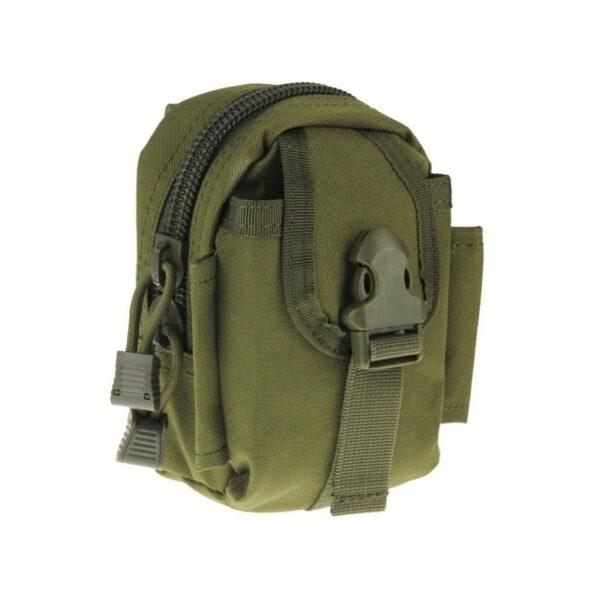 37372 - Прочная поясная сумка Density Bag - нейлон, на молнии, карман, крепление MOLLE / PALS