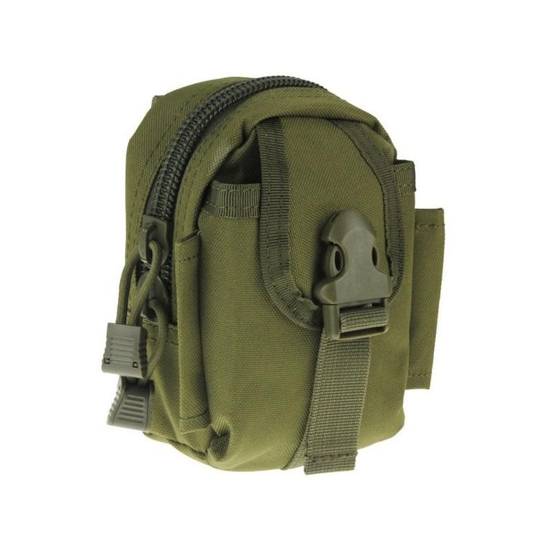 Прочная поясная сумка Density Bag – нейлон, на молнии, карман, крепление MOLLE / PALS 213214
