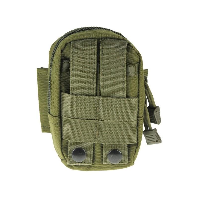 Прочная поясная сумка Density Bag – нейлон, на молнии, карман, крепление MOLLE / PALS 213215