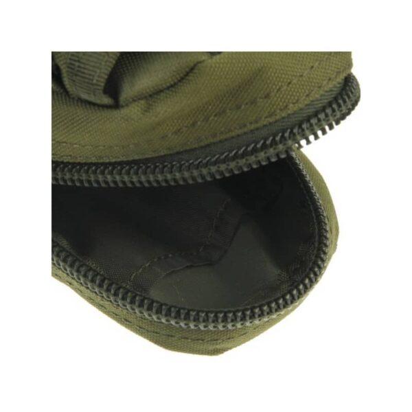 37375 - Прочная поясная сумка Density Bag - нейлон, на молнии, карман, крепление MOLLE / PALS
