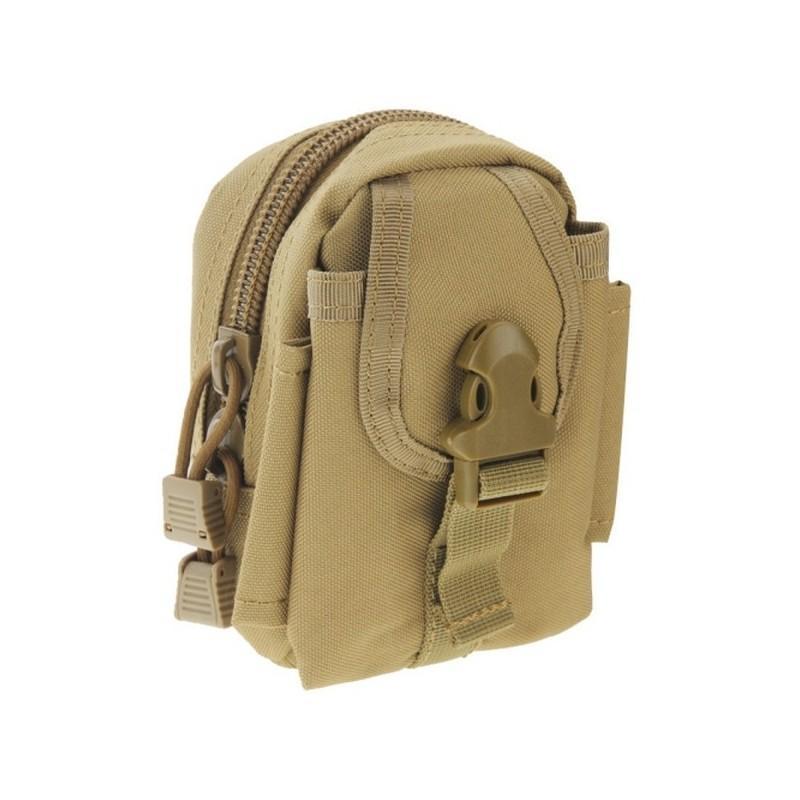 Прочная поясная сумка Density Bag – нейлон, на молнии, карман, крепление MOLLE / PALS 213220