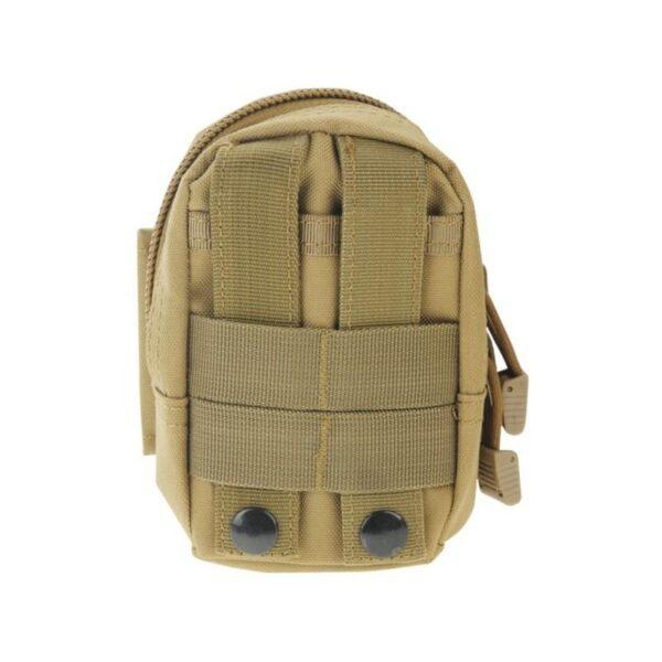 37379 - Прочная поясная сумка Density Bag - нейлон, на молнии, карман, крепление MOLLE / PALS