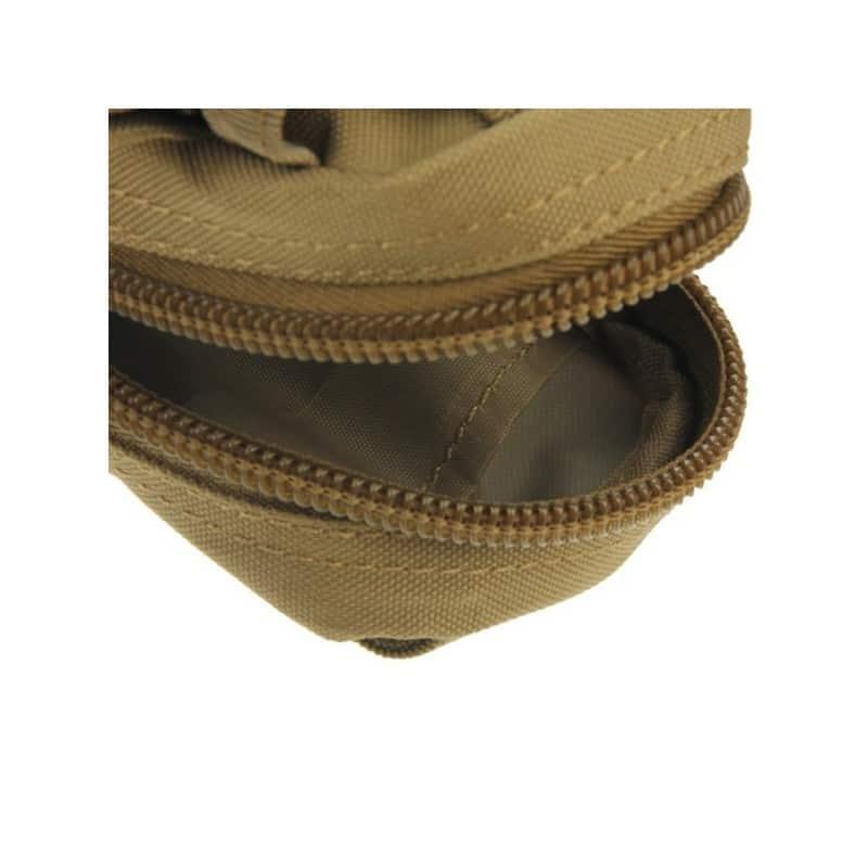 Прочная поясная сумка Density Bag – нейлон, на молнии, карман, крепление MOLLE / PALS 213222