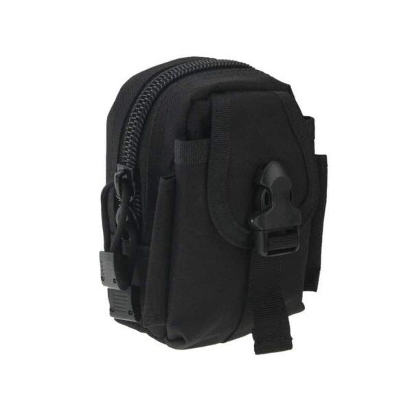 37383 - Прочная поясная сумка Density Bag - нейлон, на молнии, карман, крепление MOLLE / PALS