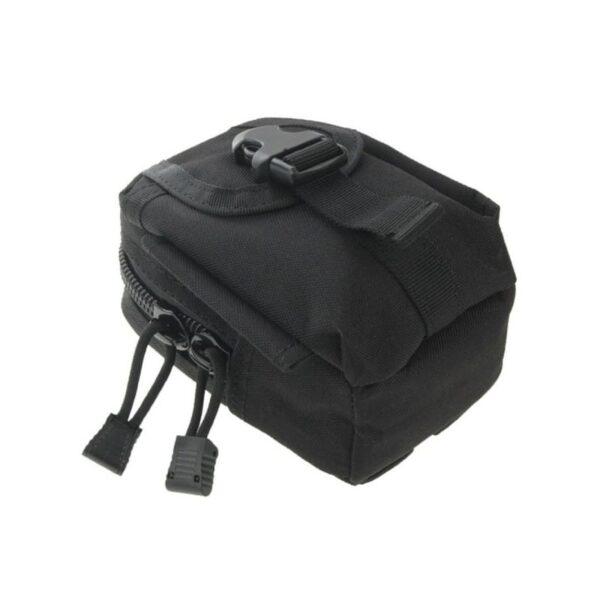 37385 - Прочная поясная сумка Density Bag - нейлон, на молнии, карман, крепление MOLLE / PALS