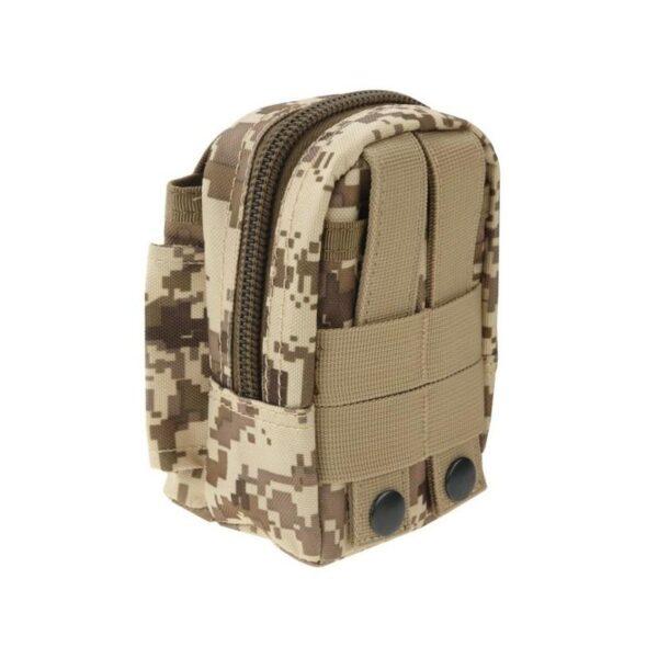 37388 - Прочная поясная сумка Density Bag - нейлон, на молнии, карман, крепление MOLLE / PALS