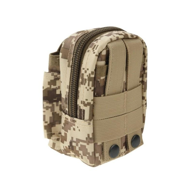 Прочная поясная сумка Density Bag – нейлон, на молнии, карман, крепление MOLLE / PALS 213230
