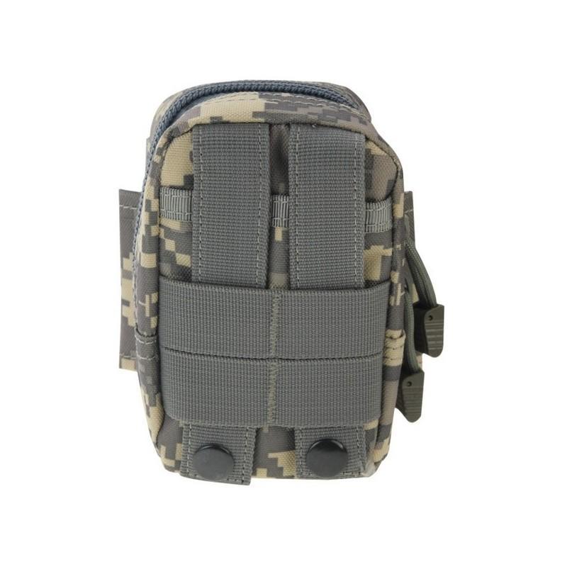 Прочная поясная сумка Density Bag – нейлон, на молнии, карман, крепление MOLLE / PALS 213233