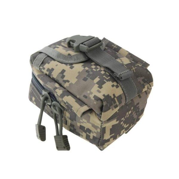 37392 - Прочная поясная сумка Density Bag - нейлон, на молнии, карман, крепление MOLLE / PALS