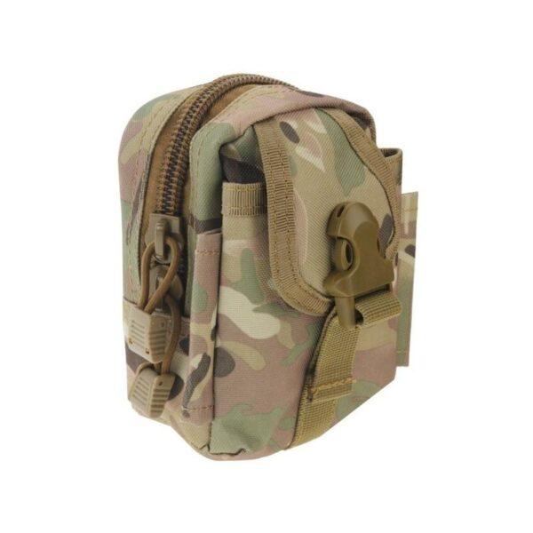 37395 - Прочная поясная сумка Density Bag - нейлон, на молнии, карман, крепление MOLLE / PALS