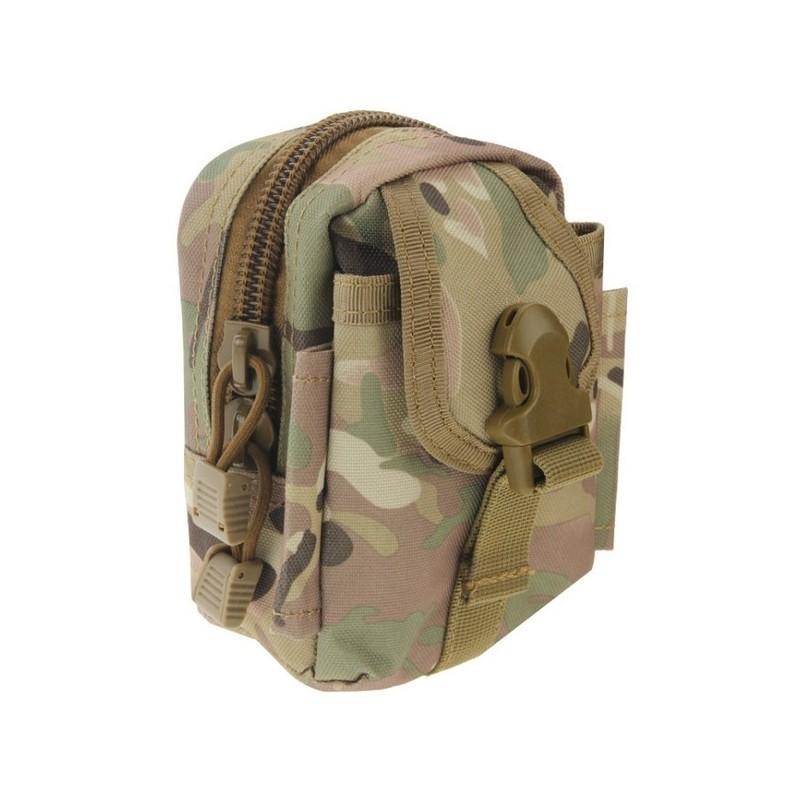 Прочная поясная сумка Density Bag – нейлон, на молнии, карман, крепление MOLLE / PALS 213237