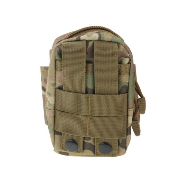 37396 - Прочная поясная сумка Density Bag - нейлон, на молнии, карман, крепление MOLLE / PALS
