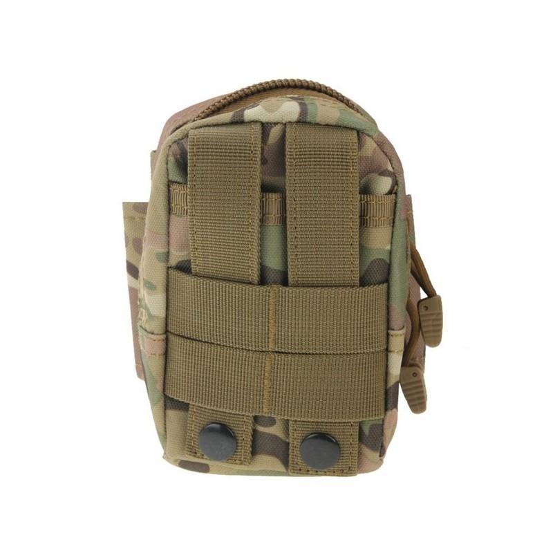 Прочная поясная сумка Density Bag – нейлон, на молнии, карман, крепление MOLLE / PALS 213238