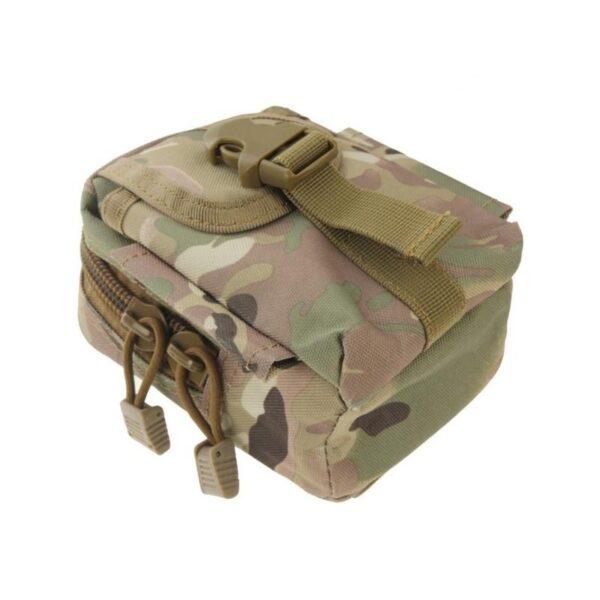 37397 - Прочная поясная сумка Density Bag - нейлон, на молнии, карман, крепление MOLLE / PALS