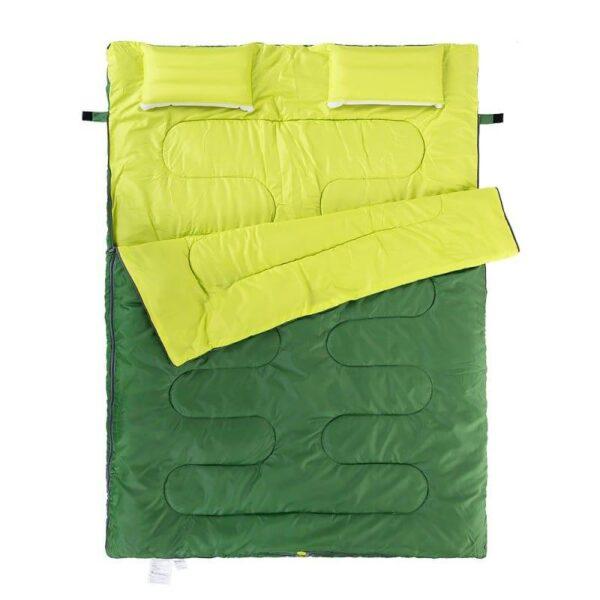 37447 - Двойной спальник с подушками Naturehike