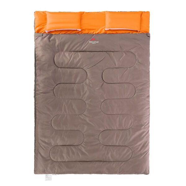 37448 - Двойной спальник с подушками Naturehike