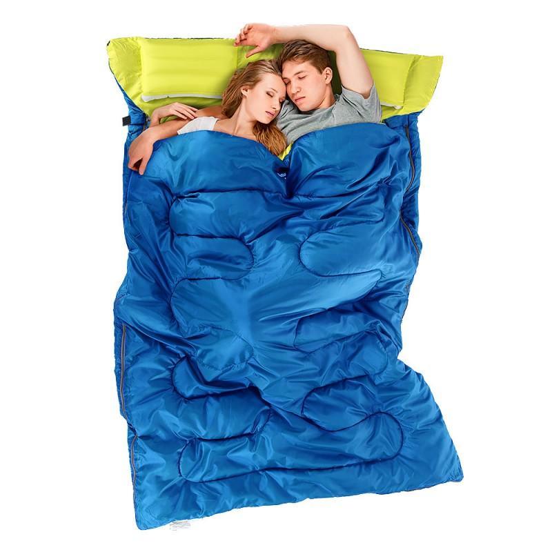 37450 - Двойной спальник с подушками Naturehike