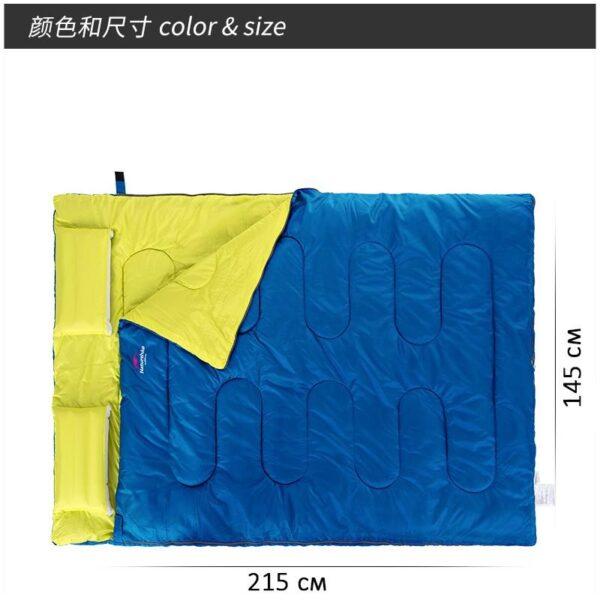 37457 - Двойной спальник с подушками Naturehike