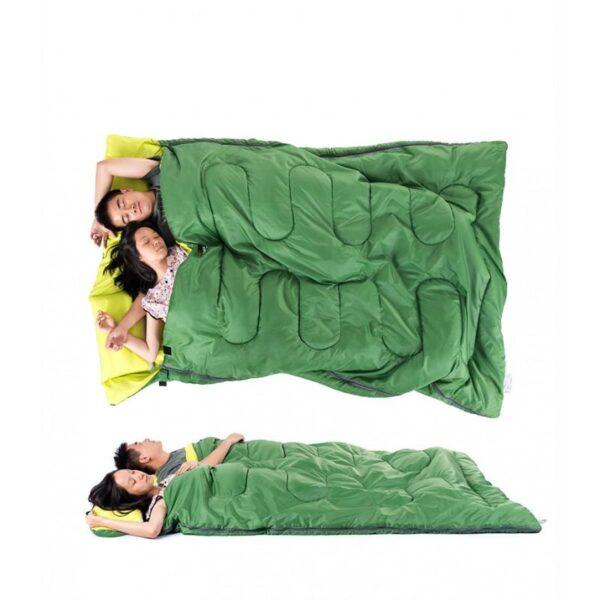 37463 - Двойной спальник с подушками Naturehike