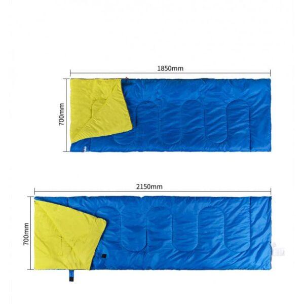 37466 - Двойной спальник с подушками Naturehike