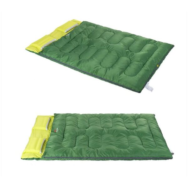 37467 - Двойной спальник с подушками Naturehike