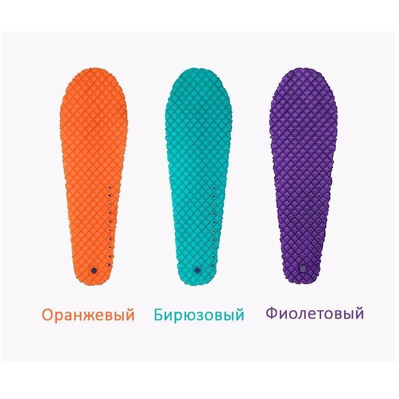Сверхлегкий надувной коврик Naturehike UltraLight Mummy Type - Оранжевый