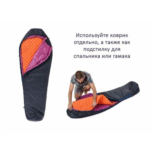 37483 - Сверхлегкий надувной коврик Naturehike UltraLight Mummy Type