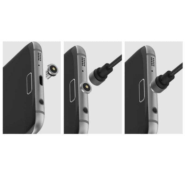 37646 - Магнитный нейлоновый USB-кабель X-cable Wsken (круговой) для устройств с разъемом USB Type-C